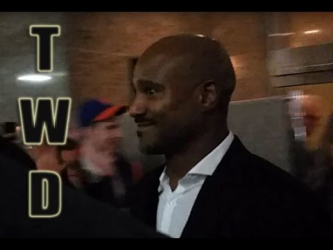 Seth Gilliam Father Gabriel Leaving Walking Dead After Party NYC!