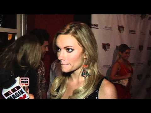 Caitlin OConnor Interview at Infusion Lounge Grand Opening on City Walk, Universal City