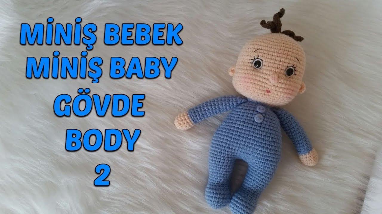 Amigurumi Bebek Gövdesi : Amigurumi miniş bebek gövde amigurumi miniş baby body
