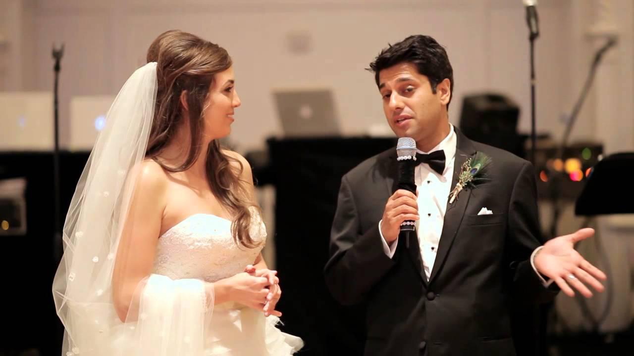 Bride And Groom Wedding Speech Youtube