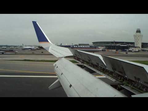 Landing at New York LaGuardia Airport (LGA/KLGA) 2009-06