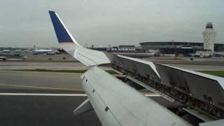 landing at new york laguardia airport lga klga 2009 06