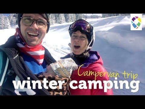 Camping In Winter Wonderland | Austria | Campervan Life