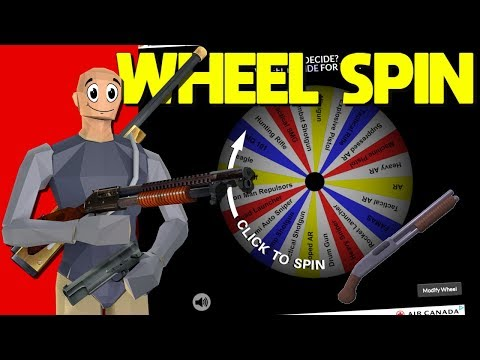This SPIN WHEEL Picked My LOADOUT In Strucid...