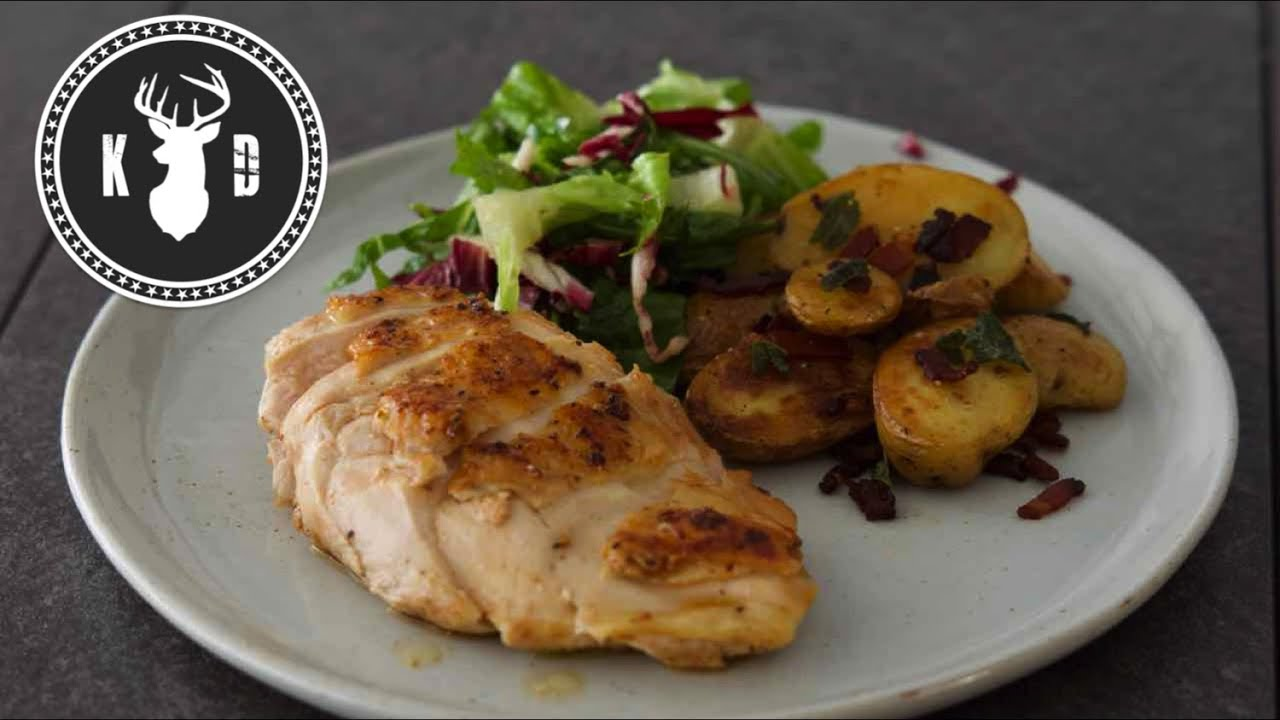 Perfect Chicken Breast, Bacon & Sage Potatoes | Kitchen Daddy