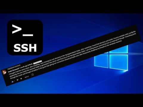 How To Install Openssh On Windows With Public Key Authentication