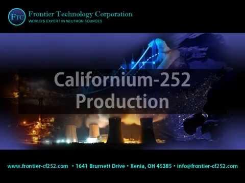 Californium-252 Production