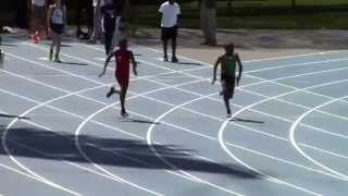 Icahn Stadium 2015 11 & 12 boys 100m Roland Hunte
