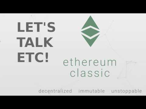 Let's Talk ETC! (Ethereum Classic) #15 - Dr. Duncan Coutts -