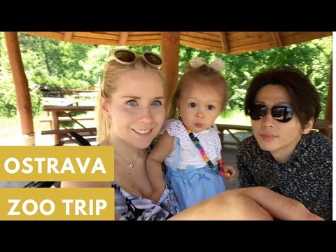 OSTRAVA ZOO IN CZECH REPUBLIC - AMWF family weekend VLOG