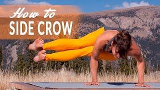 How To Side Crow Pose or Parsva Bakasana/Dwi Pada Koundinyasana with Neesha Zollinger