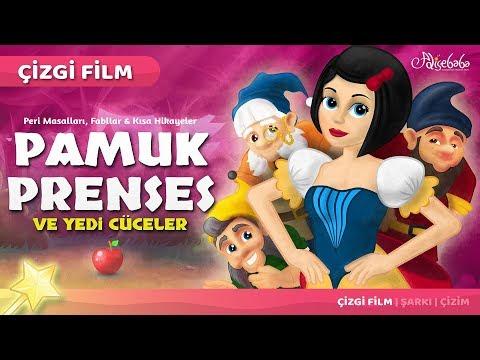 Pamuk Prenses ve Yedi Cüceler Çizgi Film Masal 5 | Adisebaba Çizgi Film Masallar