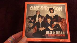 """One Direction - Made In The A.M. (Japanese Ultimate Fan Edition) (w/ """"Home"""" & Postcard) Unboxing)"""