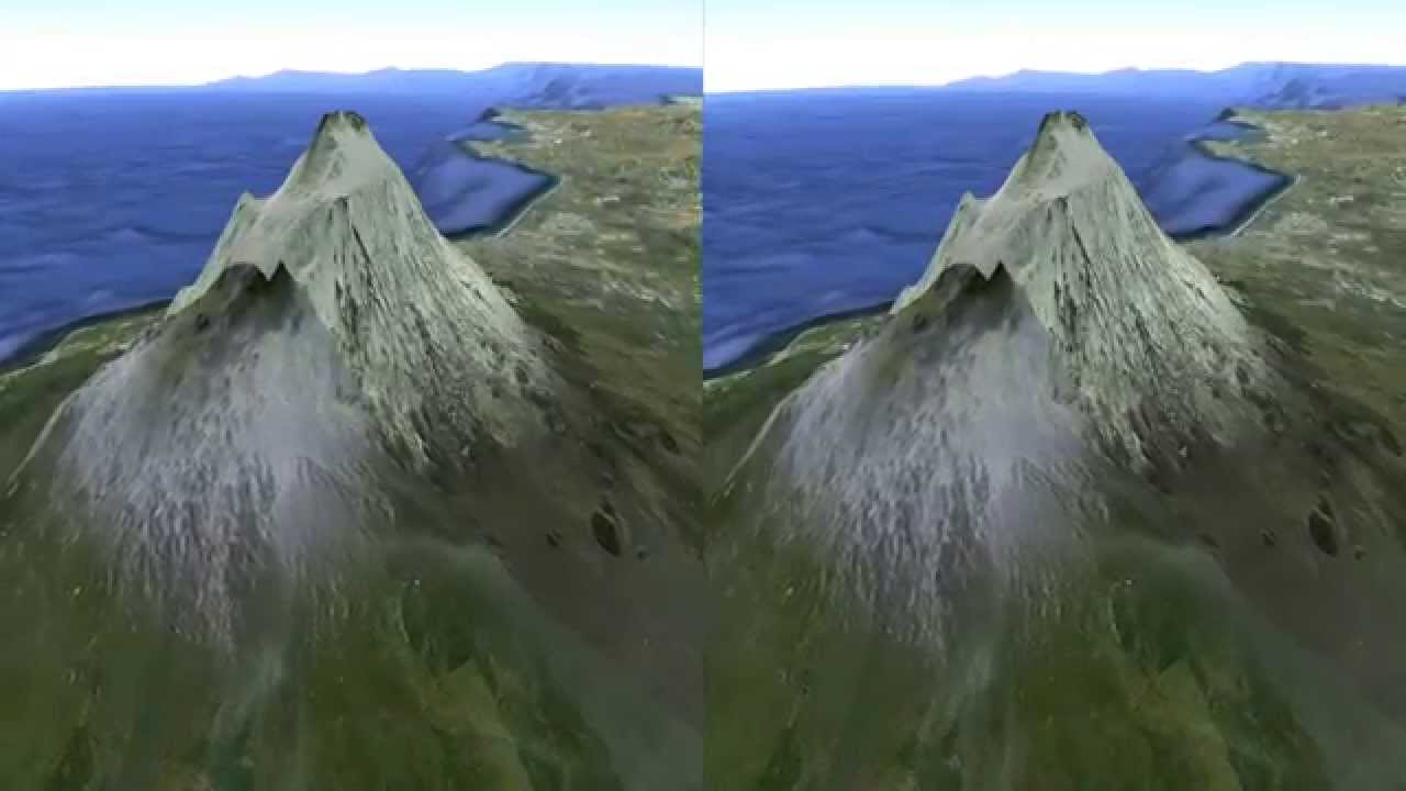 Mount Etna (Italy) Google Earth animation (3D Video)