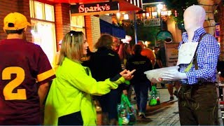 "Funniest ""Mannequin"" Halloween Prank - Try not to laugh or grin while watching this funny video!"
