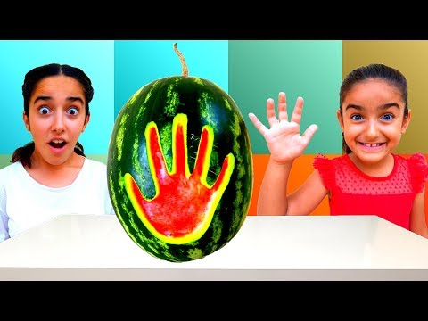 Esma's Magic hand and magic pool fun kid video