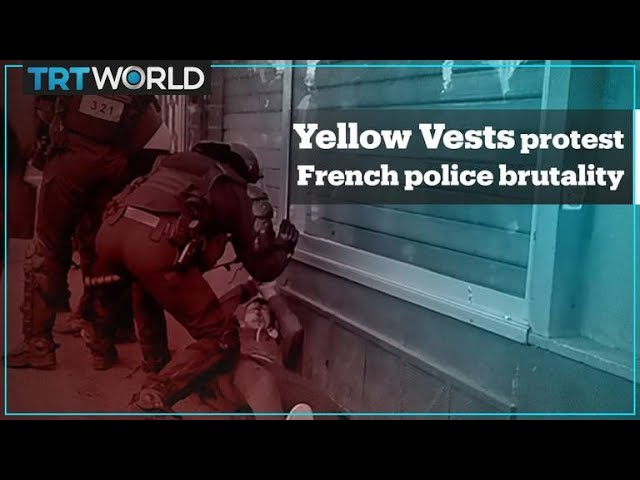 Yellow Vest protesters took to streets to denounce French police brutality