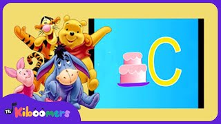 ABC Songs for Children | ABC Winnie the Pooh | Learning the Alphabet | The Kiboomers