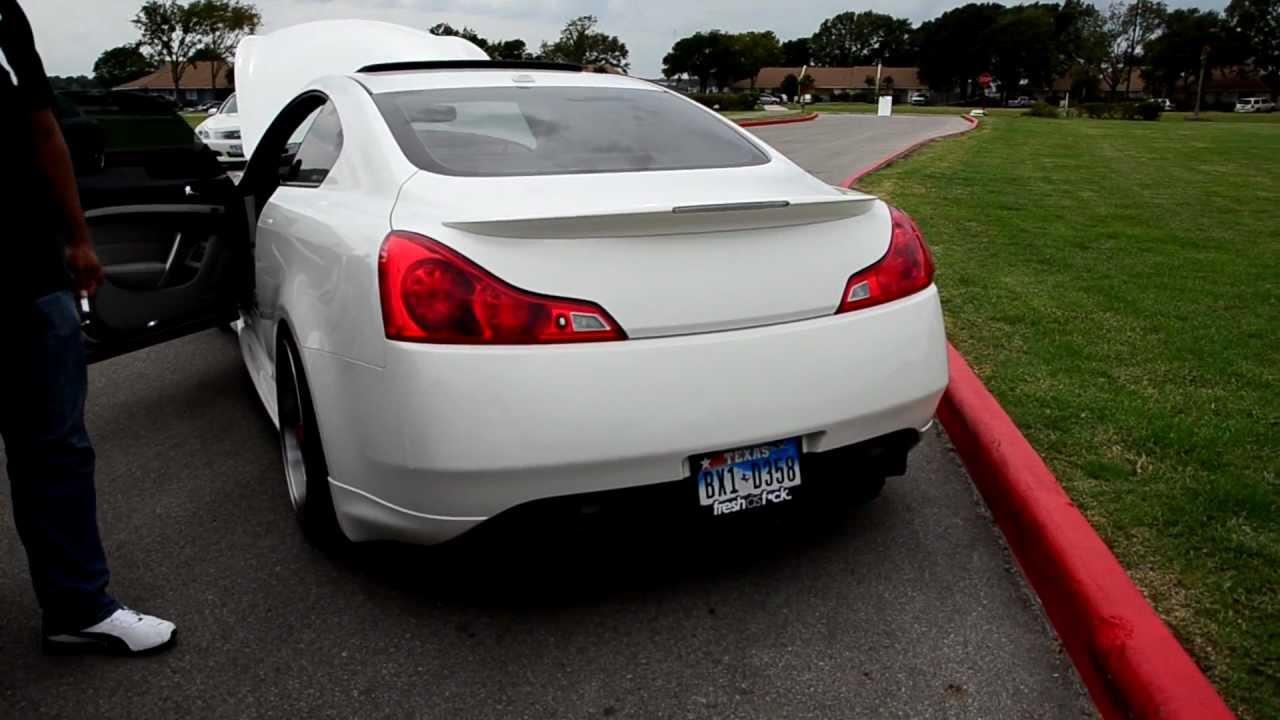 2009 Infiniti G37S 6MT w/ Motordyne Catback Exhaust