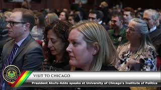 President Akufo-Addo Speaks at the University of Chicago