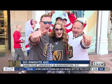 Fans are excited about Game 4 in Washington, D.C.