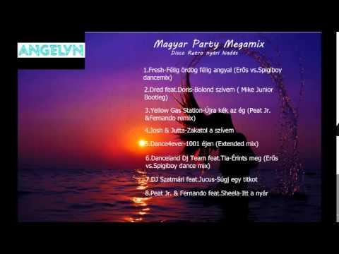 Magyar Party Megamix (Disco Retro nyári kiadás) (ANGELYN válogatás)