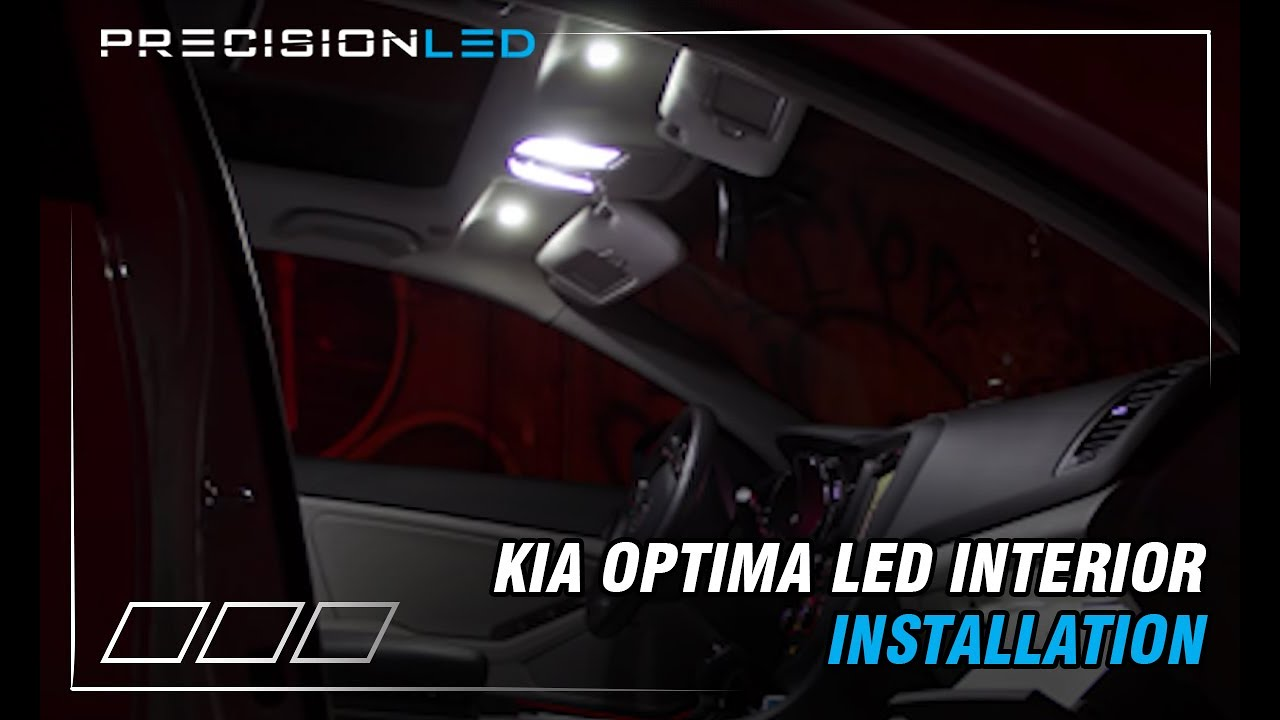 Kia Optima 2013 >> Kia Optima LED How to Install - 2011 + - YouTube
