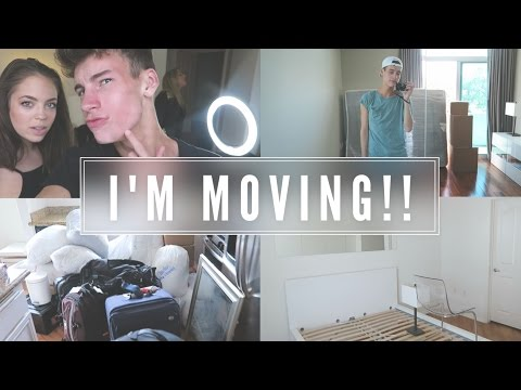 I'M MOVING INTO A HOUSE!