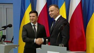 Заявление президента Украины о причинах начала Второй мировой войны прокомментировали в Кремле.