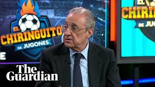 Real Madrid's Florentino Pérez 'wants to save football' with Super League