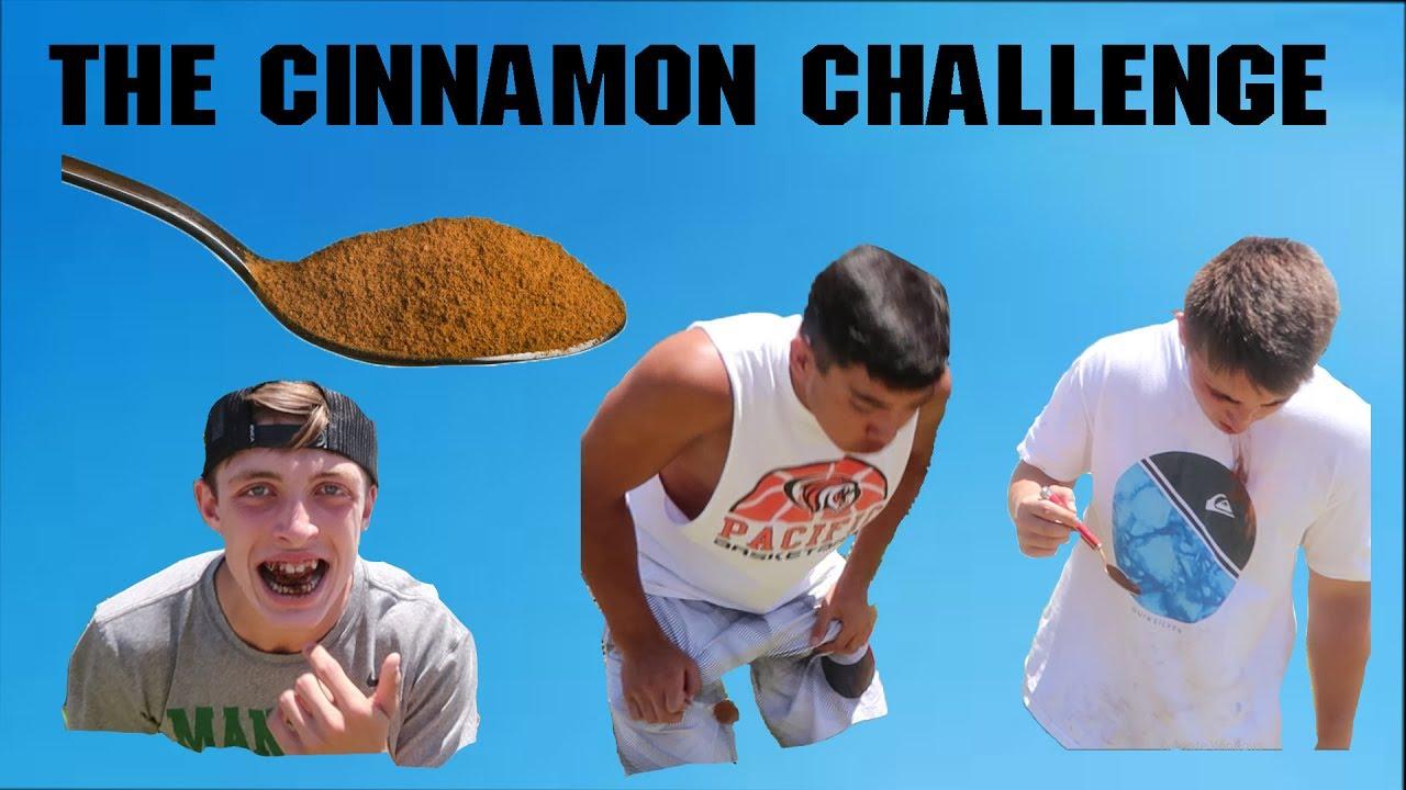 The Cinnamon Challenge - YouTube