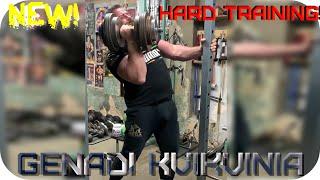 GENADI KVIKVINIA 70кг Полная тренировка бицепса огромным весом Training biceps big weigh