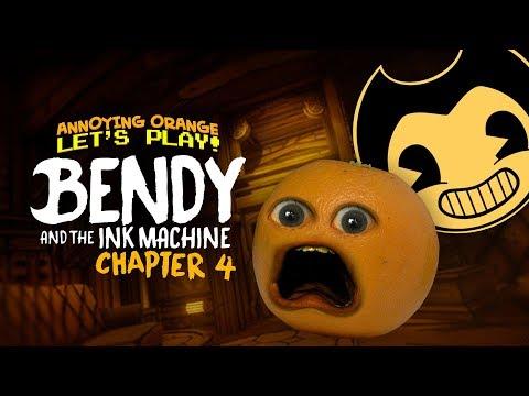 Bendy & the Ink Machine: Ch. 4 - PART 1 [Annoying Orange Plays]