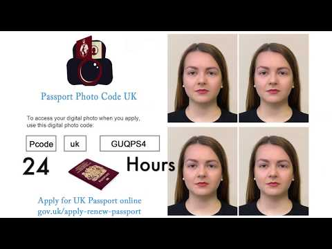 How do you countersign a passport photo online