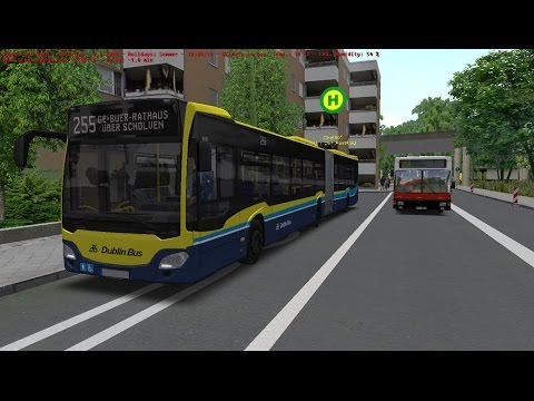 Omsi 2:Map Gladbeck, Route 255 Euro 6 Three Generations bus