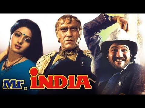 Mr. India l Anil Kapoor, Sridevi, Amrish Puri l 1987