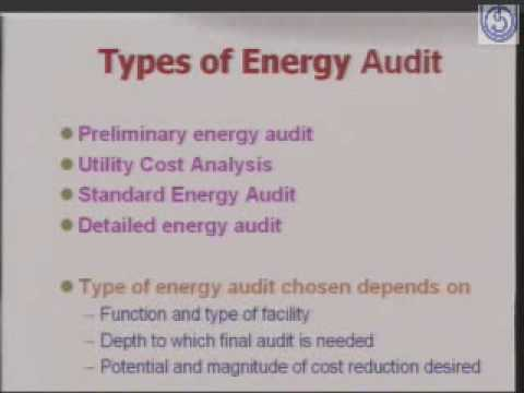 Energy Audit of Power Distribution System
