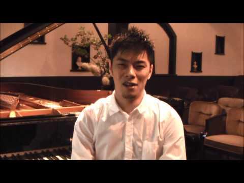 ピアニストの外山啓介さんからリサイタルのご案内