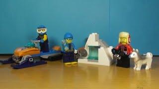 Распаковка LEGO набора Арктика