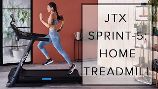JTX SPRINT-5: HOME TREADMILL | FROM JTX FITNESS