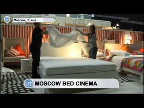Moscow Bed Cinema: Moscow turns cinema experience into a cosy affair
