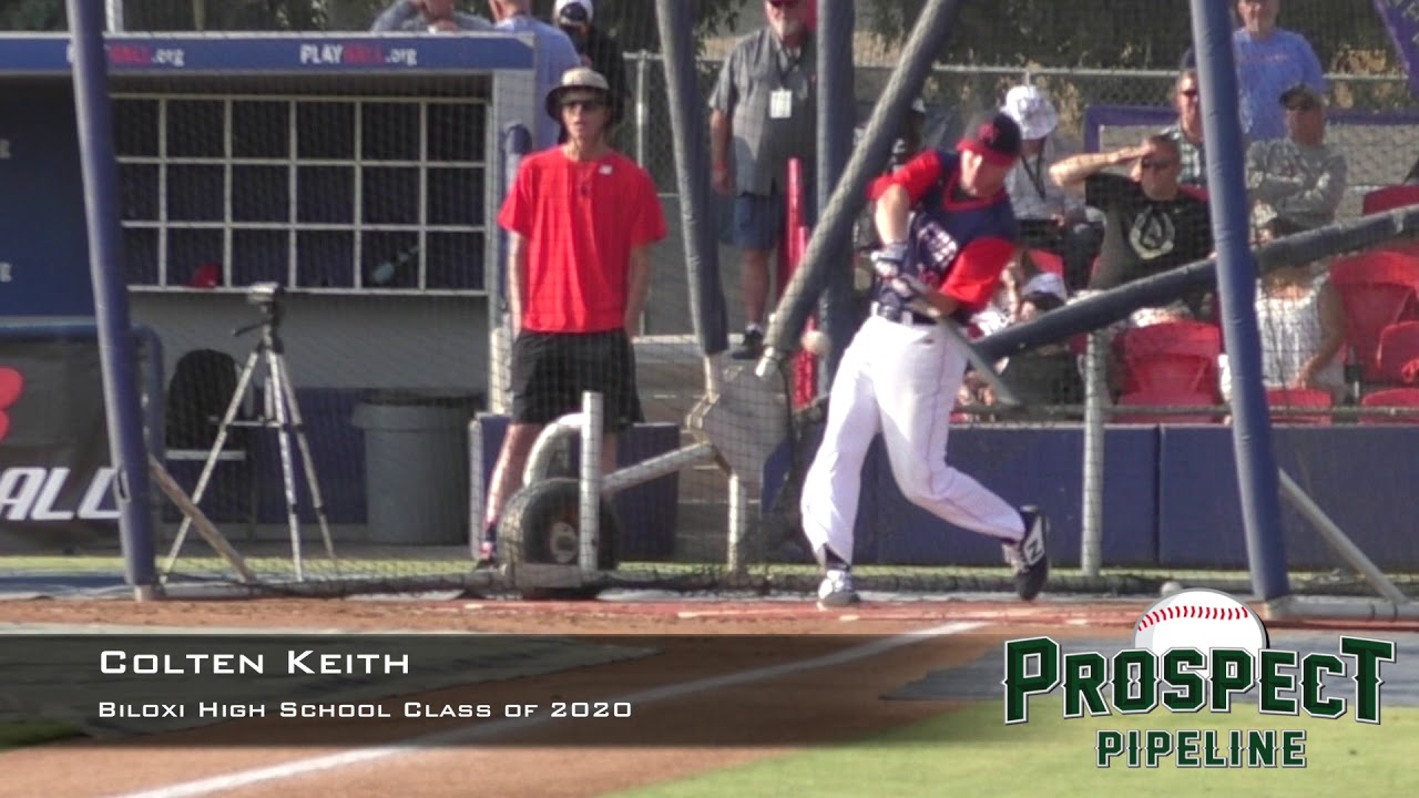 Colten Keith Prospect Video Biloxi High School Class Of 2020