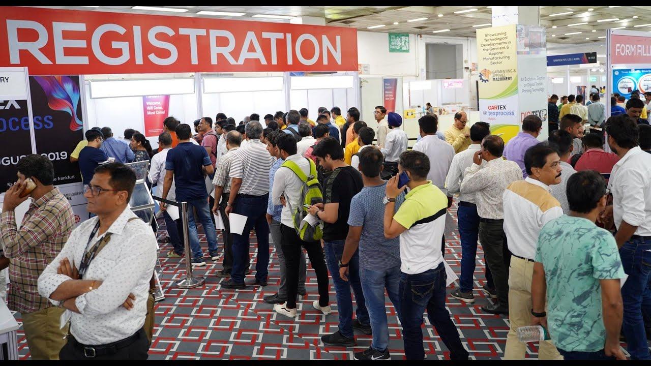 Gartex Texprocess India 2021 Hybrid Edition Garment Textile Industry Exhibition