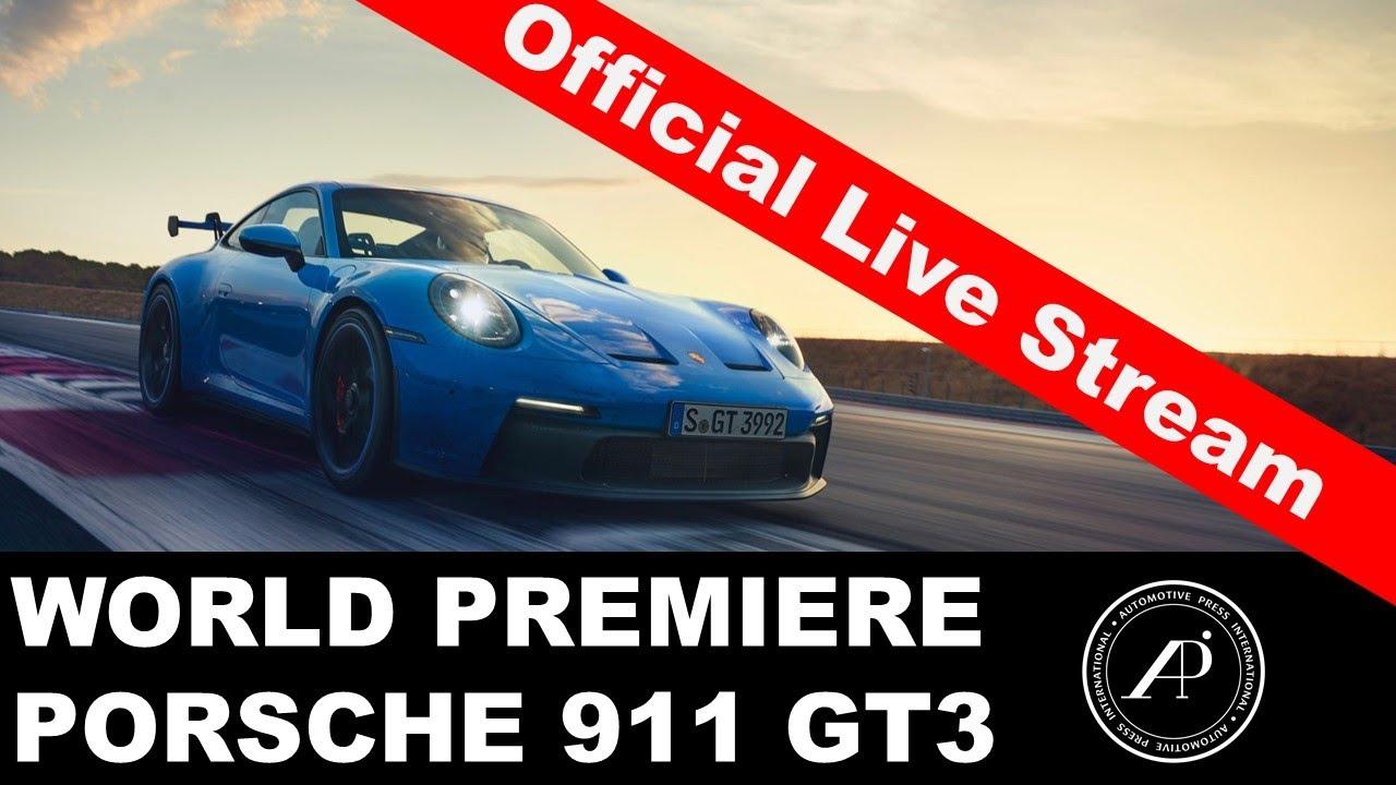 Porsche 911 GT3 World Premiere - Official Live Stream