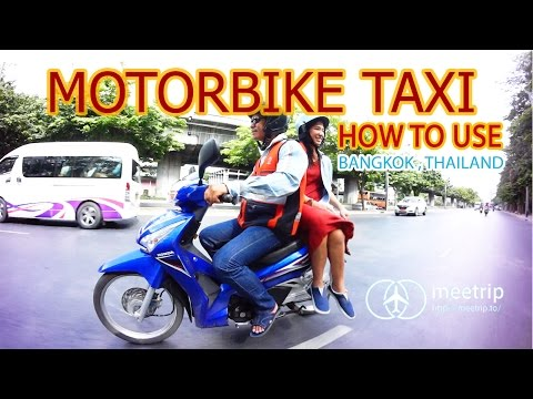 Motorbike Taxi - How To Travel In Bangkok - Bangkok Transit  | Meetrip