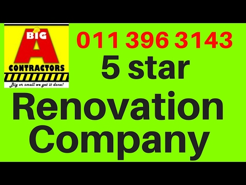 Home Remodelling Costs Johannesburg