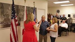 Swearing in Ceremony Key West, Florida 9/6/16