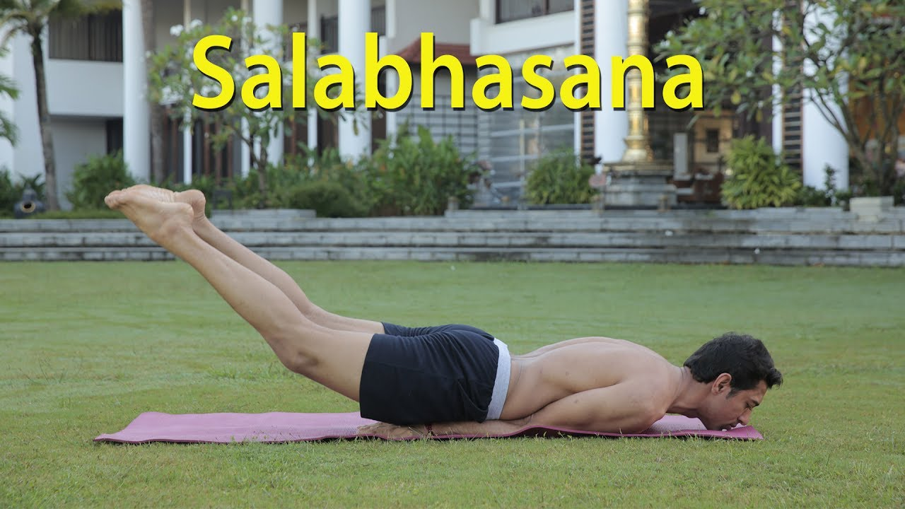 Salabhasana Ka Video