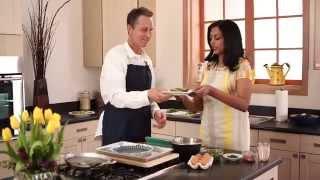 Community In The Kitchen - Crustless Asparagus Quiche