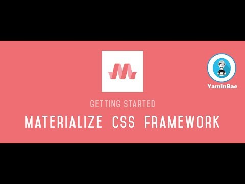 Membuat web dengan materializecss, - Intro + creat Part 01